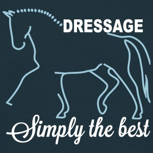 Dressage - simply the best Tee shirts - T-shirt Homme