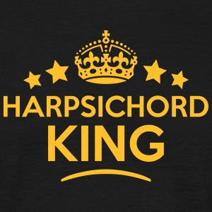 harpsichord king keep calm style crown s T-SHIRT - Men's T-Shirt