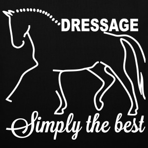 Dressage - simply the best Sacs et sacs à dos - Tote Bag