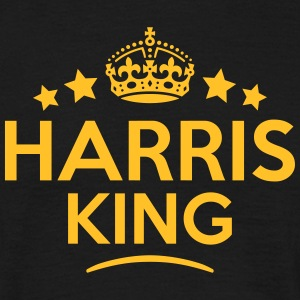 harris king keep calm style crown stars T-SHIRT - Men's T-Shirt