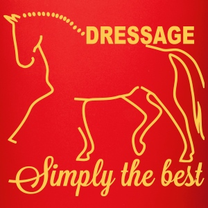 Dressage - simply the best Mugs & Drinkware - Full Colour Mug