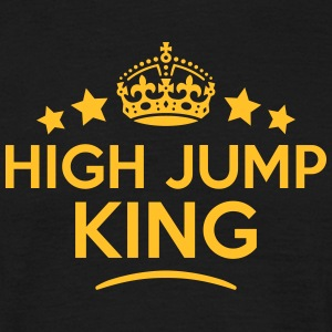 high jump king keep calm style crown sta T-SHIRT - Men's T-Shirt