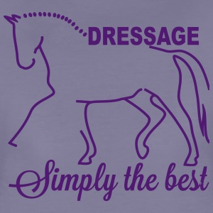 Dressage - simply the best Camisetas - Camiseta premium mujer