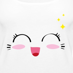 Kawaii Happy 2 - Frauen Premium Tank Top