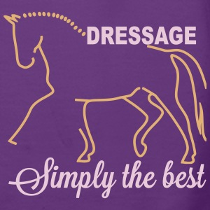 Dressage - simply the best Sweat-shirts - Sweat-shirt à capuche Premium pour femmes