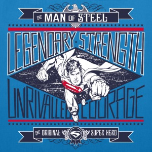 Superman Legendary Strength Stoffbeutel - Bio-Stoffbeutel