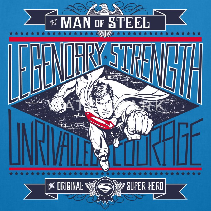 Superman Legendary Strength mulepose - Øko-stoftaske
