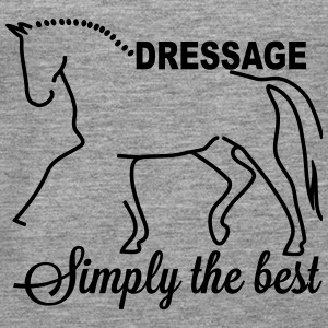 Dressage - simply the best Toppe - Dame Premium tanktop