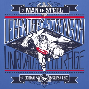 Superman Legendary Strength Stoffbeutel - Stoffbeutel