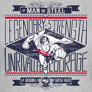 Superman Legendary Strength dame T-shirt - Dame-T-shirt