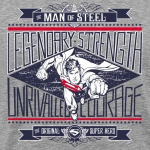 Superman Legendary Strength Männer T-Shirt - Männer Premium T-Shirt