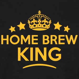 home brew king keep calm style crown sta T-SHIRT - Men's T-Shirt
