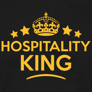 hospitality king keep calm style crown s T-SHIRT - Men's T-Shirt