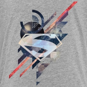 Superman Logo Galaxy teenager T-shirt - Teenager premium T-shirt