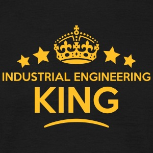 industrial engineering king keep calm st T-SHIRT - Men's T-Shirt