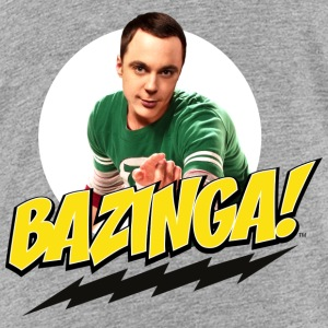 The Big Bang Theory Bazinga Teenager T-Shirt - Teenager Premium T-Shirt
