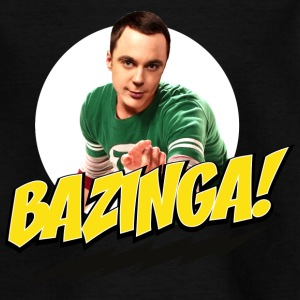 The Big Bang Theory Bazinga Thee shirt Ado - T-shirt Ado