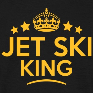 jet ski king keep calm style crown stars T-SHIRT - Men's T-Shirt