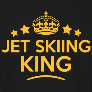 jet skiing king keep calm style crown st T-SHIRT - Men's T-Shirt