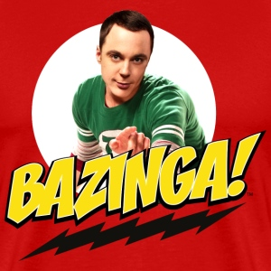 The Big Bang Theory Bazinga Thee shirt Homme - T-shirt Premium Homme