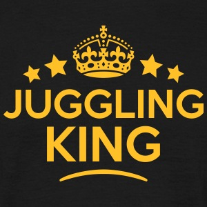 juggling king keep calm style crown star T-SHIRT - Men's T-Shirt