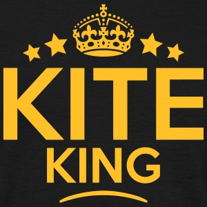 kite king keep calm style crown stars T-SHIRT - Men's T-Shirt