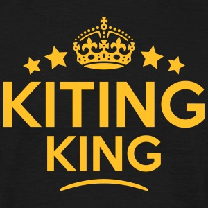 kiting king keep calm style crown stars T-SHIRT - Men's T-Shirt