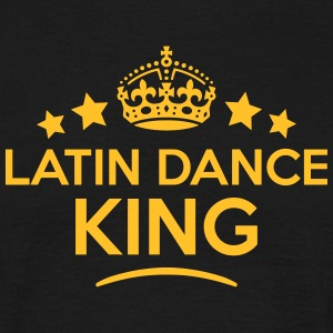 latin dance king keep calm style crown s T-SHIRT - Men's T-Shirt