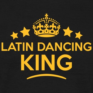 latin dancing king keep calm style crown T-SHIRT - Men's T-Shirt