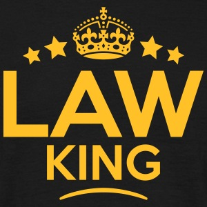 law king keep calm style crown stars T-SHIRT - Men's T-Shirt