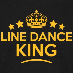 line dance king keep calm style crown st T-SHIRT - Men's T-Shirt
