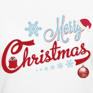 MERRY CHRISTMAS 2 T-Shirts - Frauen Bio-T-Shirt