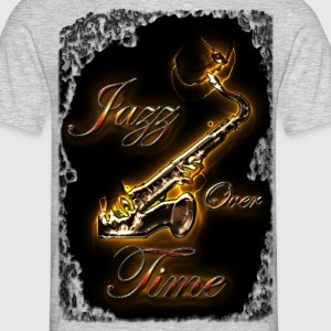 Bluesax Jazz Over Time - T-shirt Homme