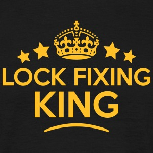 lock fixing king keep calm style crown s T-SHIRT - Men's T-Shirt