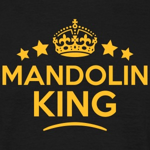 mandolin king keep calm style crown star T-SHIRT - Men's T-Shirt