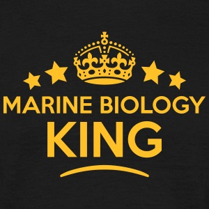 marine biology king keep calm style crow T-SHIRT - Men's T-Shirt