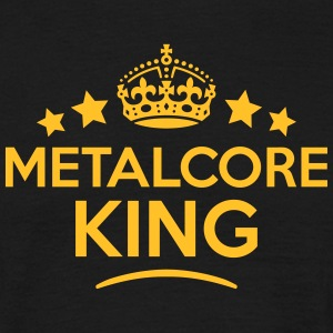 metalcore king keep calm style crown sta T-SHIRT - Men's T-Shirt