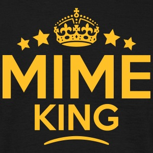mime king keep calm style crown stars T-SHIRT - Men's T-Shirt