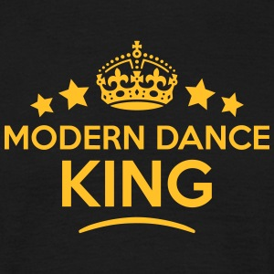 modern dance king keep calm style crown  T-SHIRT - Men's T-Shirt