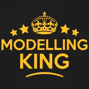 modelling king keep calm style crown sta T-SHIRT - Men's T-Shirt