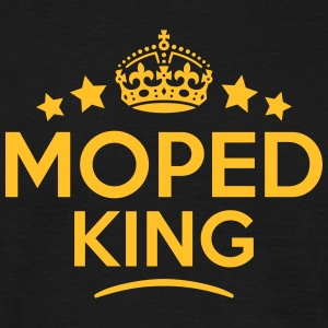 moped king keep calm style crown stars T-SHIRT - Men's T-Shirt