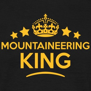 mountaineering king keep calm style crow T-SHIRT - Men's T-Shirt