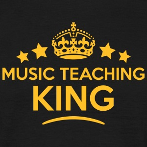 music teaching king keep calm style crow T-SHIRT - Men's T-Shirt