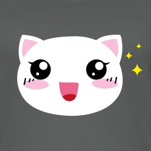 Kawaii happy Cat - Frauen Bio Tank Top