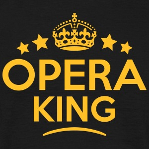 opera king keep calm style crown stars T-SHIRT - Men's T-Shirt