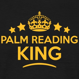 palm reading king keep calm style crown  T-SHIRT - Men's T-Shirt