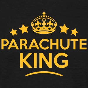 parachute king keep calm style crown sta T-SHIRT - Men's T-Shirt