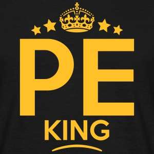 pe king keep calm style crown stars T-SHIRT - Men's T-Shirt