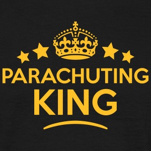 parachuting king keep calm style crown s T-SHIRT - Men's T-Shirt