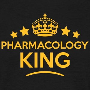 pharmacology king keep calm style crown  T-SHIRT - Men's T-Shirt